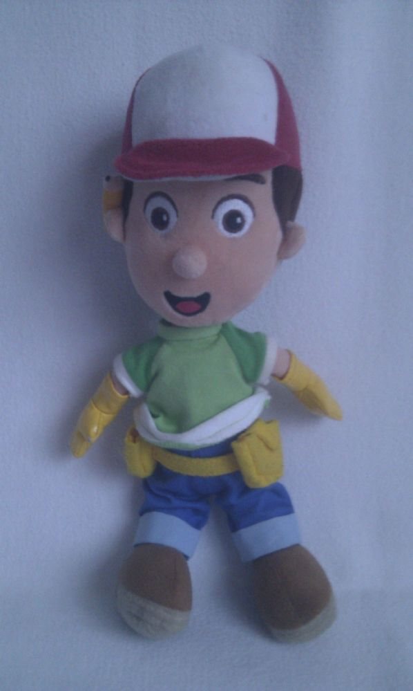 Adorable My 1st Handy Manny Plush Toy